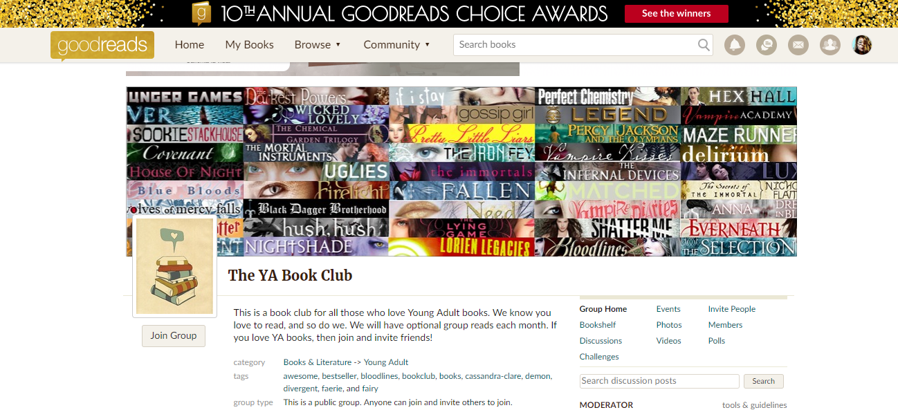 bookclub-on-goodreads