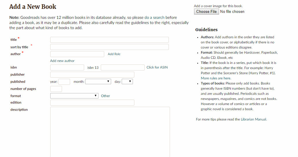 how-to-add-your-book-on-goodreads