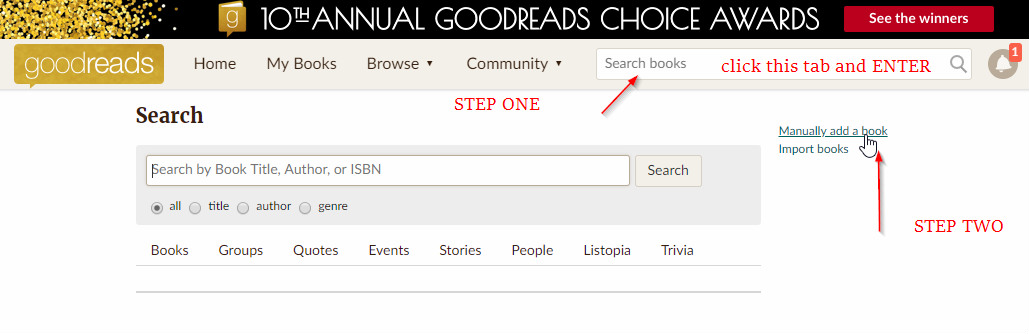 how-to-put-your-novel-on-goodreads