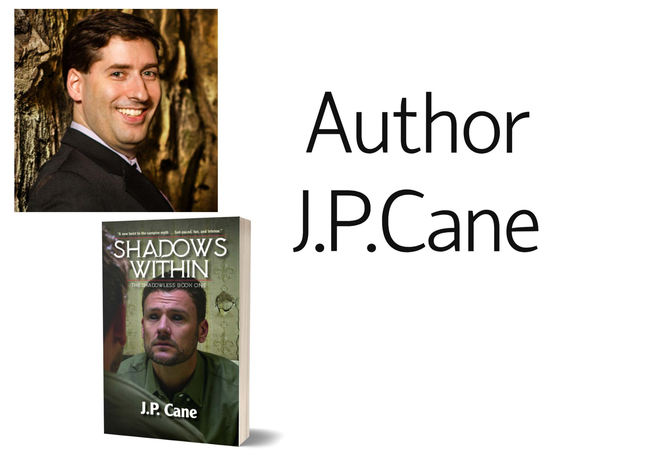 Author J.P. Cane