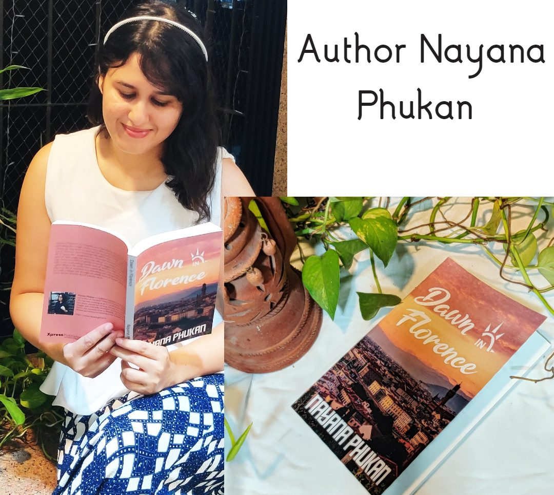 Author Nayana Phukan